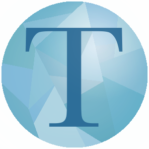 Logo of the letter T